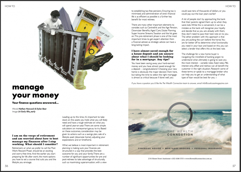 Coal Coast Mag - How To Manage Your Money... Your money questions answered