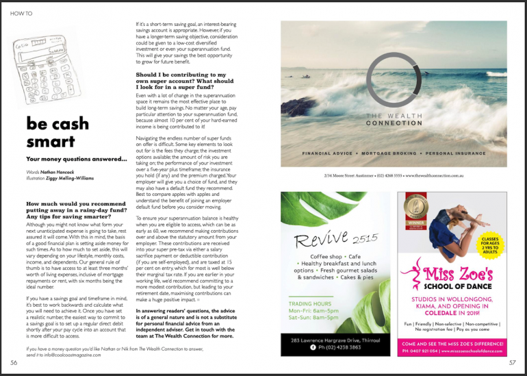 Coal Coast Mag - Be Cash Smart... Your money questions answered