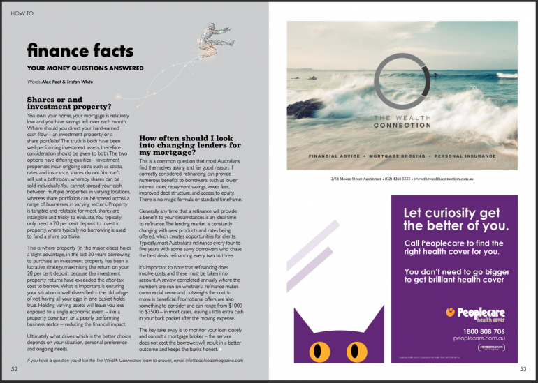 Coal Coast Mag - Finance Facts... Your money questions answered